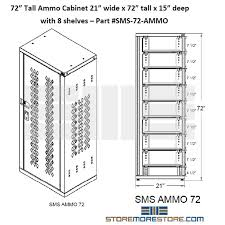 Ammo Storage Cabinet Ammo Storage Cabinet Storing Ammunition Locking Safe Adjustable