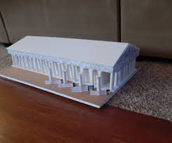 how to make a to scale model of the parthenon in greece 7 steps