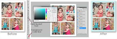 how to use our photoshop templates fototale designs
