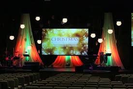 Church Stage Christmas Decorations Manchester Christian Church Stage Design Church U0026 Stage