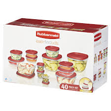 rubbermaid 40 piece easy find lids food storage set meijer com