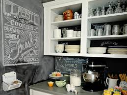 Paint Kitchen Backsplash - chalkboard paint kitchen backsplash inexpensive in small kitchen