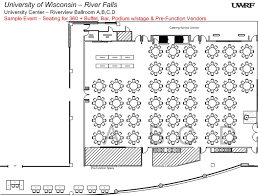 ballroom floor plan riverview ballroom university of wisconsin river falls