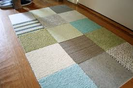 Diy Area Rug From Fabric Design Your Own Area Rug Blue Green Contemporary