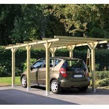tettoia auto legno carport tettoia in legno impregnato per auto cm 304 x 510 rhyno