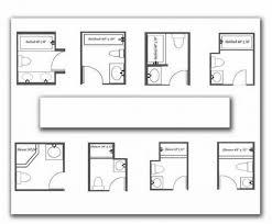 bathroom excellent small 3 4 bathroom floor plans small 34