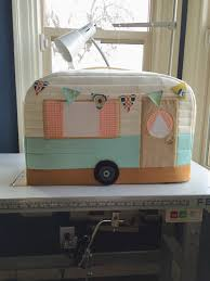 Caravan Sofa Covers Vintage Caravan Sewing Machine Cover Craft Ideas Pinterest