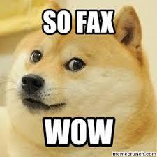 Fax Meme - fax