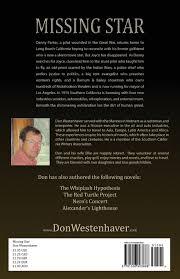 missing star don westenhaver 9781506903668 amazon com books