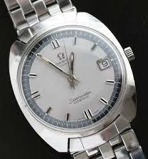 omega link bracelet images Omega seamaster cosmic watch with brick link bracelet used and jpg