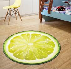 Round Yellow Rug Round Mat Rug Promotion Shop For Promotional Round Mat Rug On