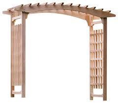 wedding arches to purchase cedar garden wedding arbor traditional pergolas arbors and