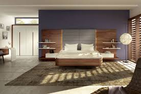 bedroom contemporary double floating beds for beautiful bedroom