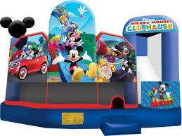 mickey mouse clubhouse bounce house 5 in 1 mickey mouse clubhouse party rental ca