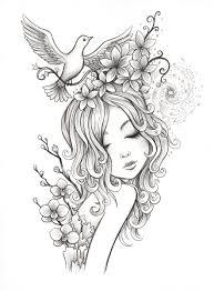 spirals ink on paper 11 x 14 jeremiah ketner digi art free