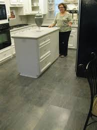 Laminate Tile Flooring Kitchen by A New White Kitchen Upgraded With Quick Step Quadra Charcoal Slate