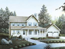 Country Home With Wrap Around Porch Brookfield Country Home Plan 040d 0027 House Plans And More