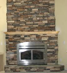 articles with installing fake stone fireplace tag entrancing