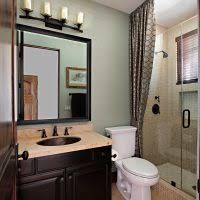 Finished Bathroom Ideas Bathroom Ideas Elegant White Melamine Finished Mahogany Wood