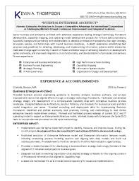 Enterprise Architect Resume Sample by The Incredible Resume Of It Engineer Resume Format Web