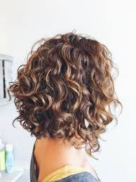 should older women have their hair permed curly i like the layers at the back and the angle down to the front