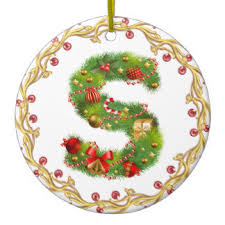 letter s ornaments keepsake ornaments zazzle