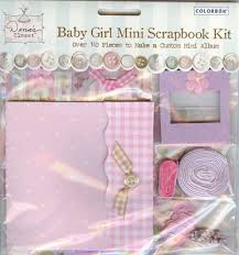 Colorbok Scrapbook Mini Scrapbook Album Kit Colorbok
