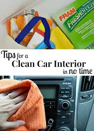 Car Upholstery Cleaner Near Me How To Spring Clean Your Car Organized 31