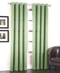 108 Length Drapes Sage Linen Blackout Curtains Amazon Com