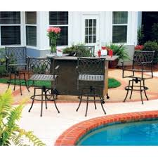 Outdoor Furniture Bar by Hi Top Outdoor Furniture Bar Patio Furniture And Counter