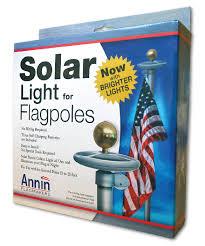 Solar Powered Lights For Flagpoles Amazon Com Annin Solar Light Led Flag Pole Light Garden