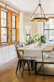 How To Make Your Own Dining Room Table by The Living U0026 Dining Room Cottage House Flip Reveal Jenna Sue