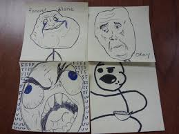 drawing meme faces