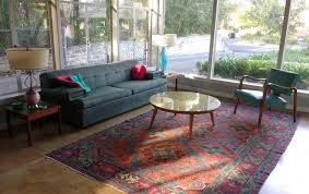 Midcentury Modern Rugs Rugs In Midcentury Living Rooms Me Likey Retro Renovation