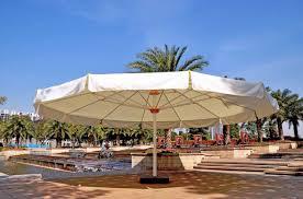 Palm Tree Patio Umbrella Large Outdoor Patio Umbrella Roman Empire Park Swimming Pool