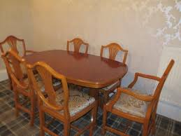 Yew Dining Room Furniture Brass Claw Feet For Table Local Classifieds Buy And Sell In The