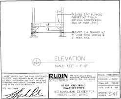 independent living scales manual mcil ramps rudin drawing enlarged right angle turn support