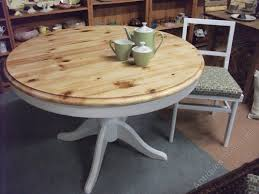 round pine dining table antiques atlas vintage extending round pine table and 4 chairs