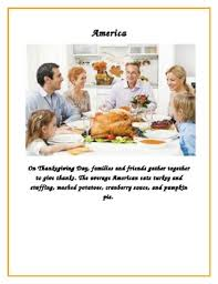 writing let s write thanksgiving celebrations around the
