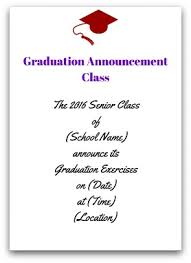 grad announcement wording graduation announcement wording announcement class jpg