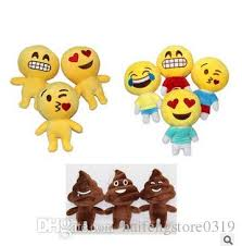 2018 cute plush toy sofa decorations soft emoji smiley emoticon