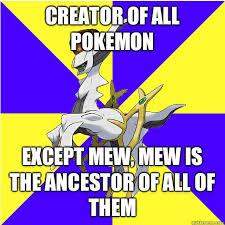 Arceus Meme - scumbag arceus memes quickmeme