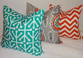 throw pillows orange house decorations and furniture orange