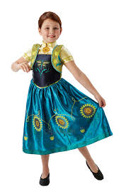 frozen dress for halloween girls licensed disney frozen fever anna elsa fancy dress costume
