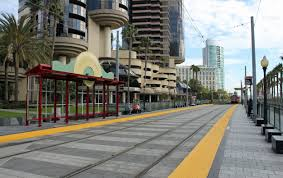 San Diego Convention Center Map by File Convention Center San Diego Trolley Station Jpg Wikimedia