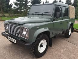original land rover defender 2016 land rover defender 110 double cab 2 2 tdci lwb reg no