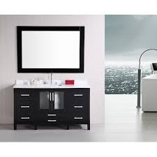 design element b60 ds stanton 60 inch single modern bathroom vanity