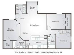 floor plans 3 bedroom 2 bath inspiring idea 11 3 bed 2 bath open floor plans bedroom plan