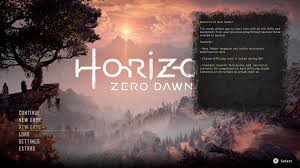 horizon zero dawn u0027s new game lets you keep your gear but skip the
