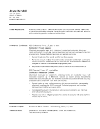 medical billing resume template cover letter collection specialist collection specialist american cover letter collection executive resume format collections actuary collection formatcollection specialist extra medium size